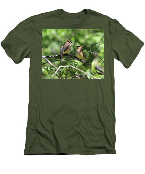 Waxwing Socialism Men's T-Shirt (Athletic Fit)
