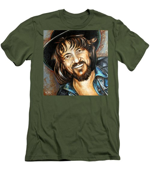 Waylon Jennings Men's T-Shirt (Athletic Fit)