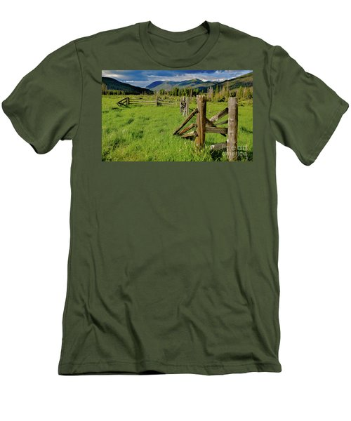 Weathered But Standing Men's T-Shirt (Athletic Fit)