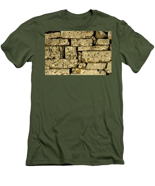 Men's T-Shirt (Athletic Fit) featuring the photograph Weathered by Kennerth and Birgitta Kullman