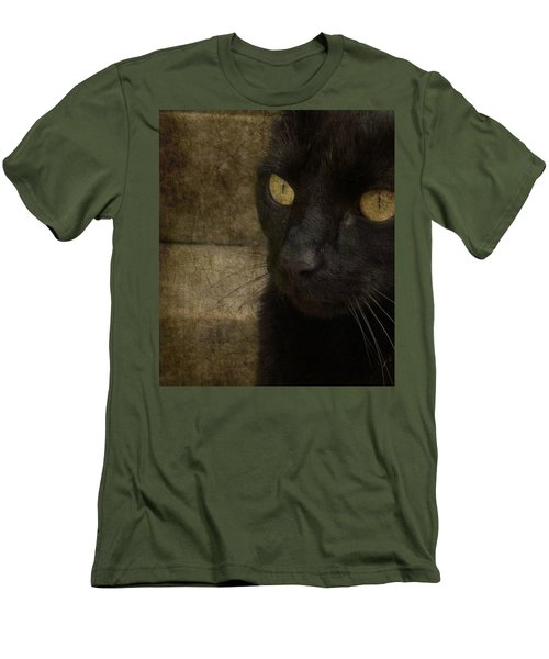 Men's T-Shirt (Slim Fit) featuring the photograph Wee Sybil  by Paul Lovering