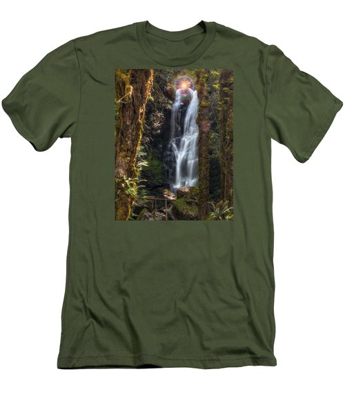 Weeping Angel Men's T-Shirt (Slim Fit) by James Heckt