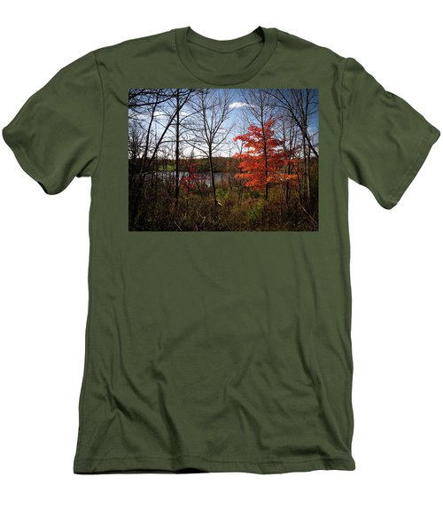 Men's T-Shirt (Slim Fit) featuring the photograph Wehr Wonders by Kimberly Mackowski