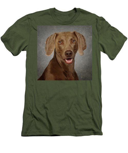 Weimaraner Men's T-Shirt (Athletic Fit)