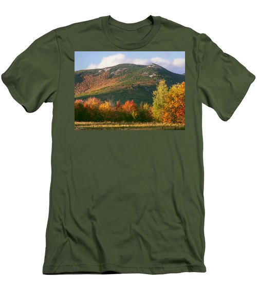 Welch And Dickey Mountains Men's T-Shirt (Slim Fit) by Nancy Griswold
