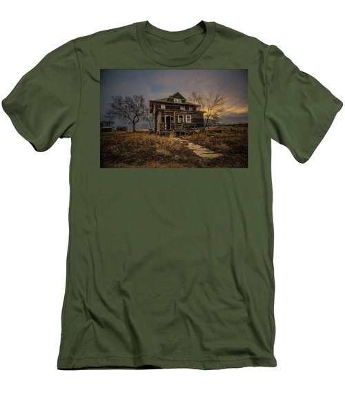 Men's T-Shirt (Slim Fit) featuring the photograph Welcome Home by Aaron J Groen