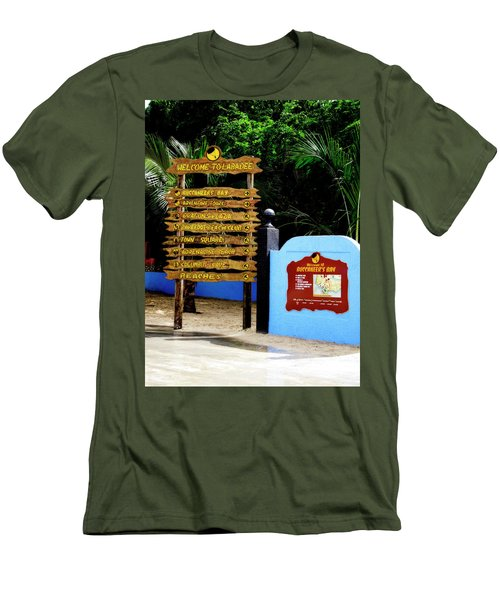Welcome To Labadee Men's T-Shirt (Athletic Fit)