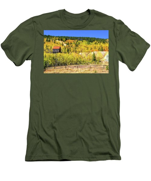 Wellington Ore Bin In The Aspen Men's T-Shirt (Athletic Fit)