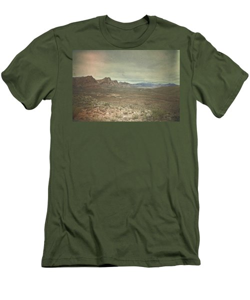 Men's T-Shirt (Slim Fit) featuring the photograph West by Mark Ross