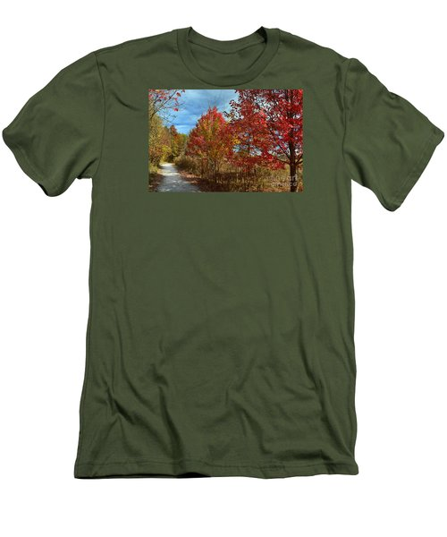 West Park Carmel In Fall Men's T-Shirt (Athletic Fit)