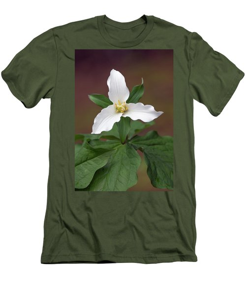 Western Trillium Men's T-Shirt (Athletic Fit)