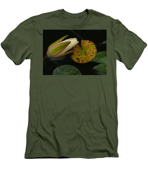 Wet Lily Men's T-Shirt (Athletic Fit)