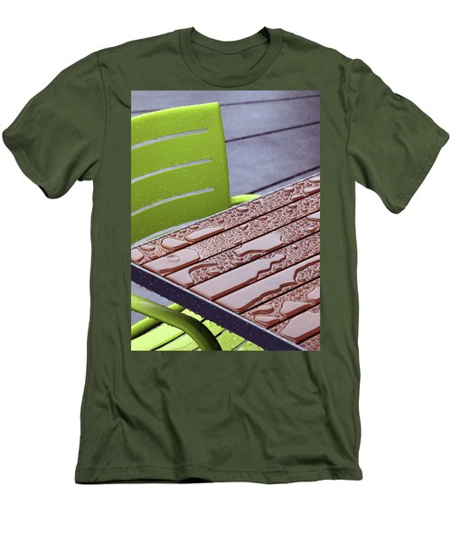Wet Table Men's T-Shirt (Slim Fit) by Christopher McKenzie
