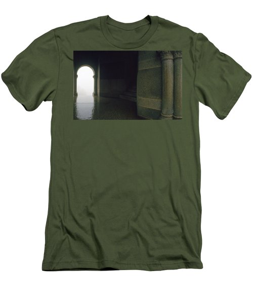 Wet Weather Men's T-Shirt (Slim Fit) by Jan W Faul