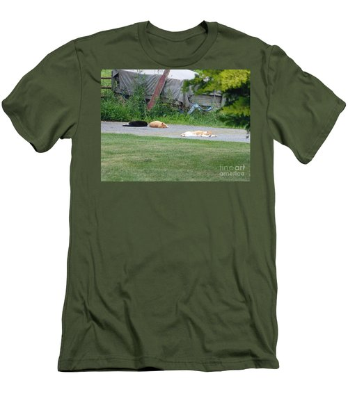 What A Day Men's T-Shirt (Athletic Fit)