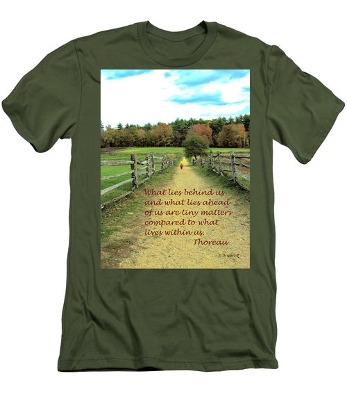 What Lies Ahead Men's T-Shirt (Athletic Fit)