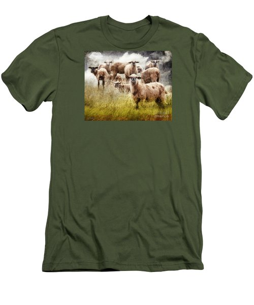 What You Lookin' At? Men's T-Shirt (Athletic Fit)