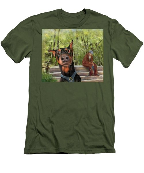 What's That I Hear? Men's T-Shirt (Athletic Fit)