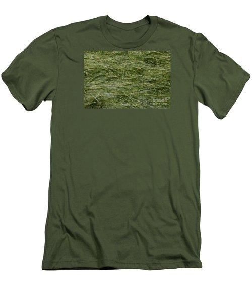 Men's T-Shirt (Slim Fit) featuring the photograph Wheat Field by Jean Bernard Roussilhe