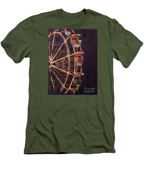Wheel Men's T-Shirt (Slim Fit) by Joseph A Langley