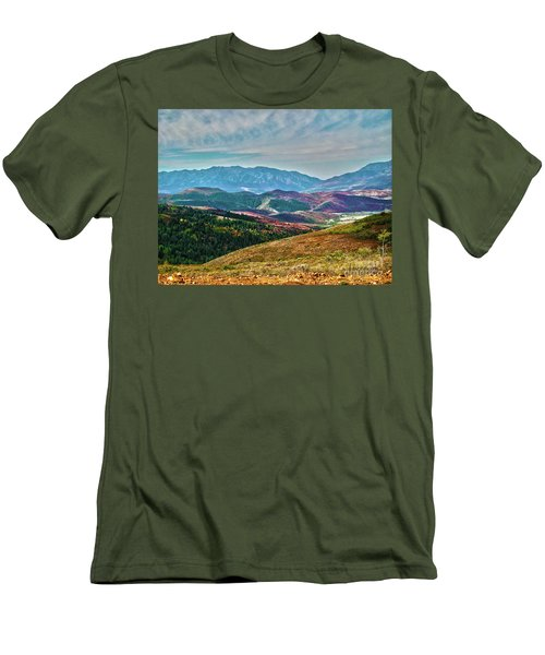 Wheeler Peak Men's T-Shirt (Athletic Fit)