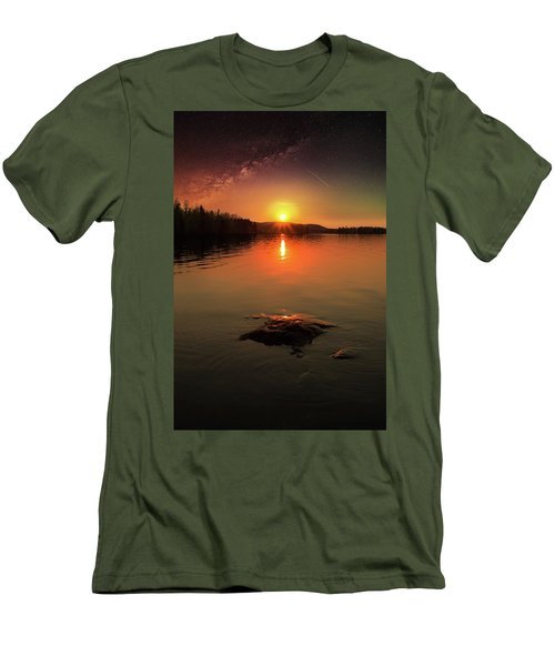 Where Heaven Touches The Earth Men's T-Shirt (Athletic Fit)