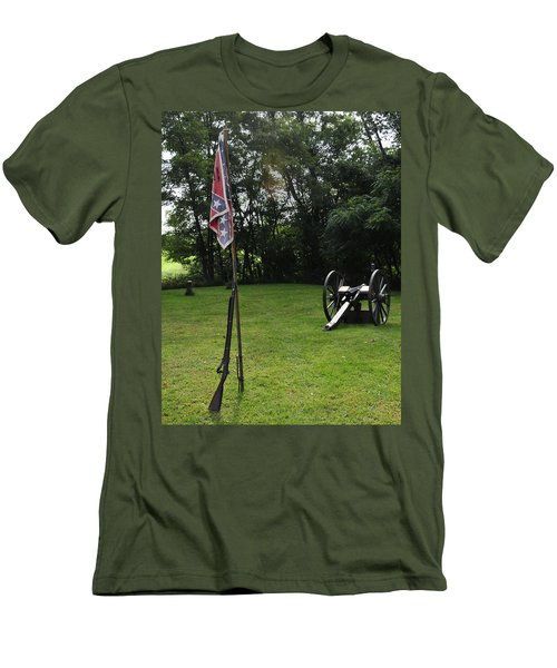 Where The Rebs Camp Men's T-Shirt (Athletic Fit)