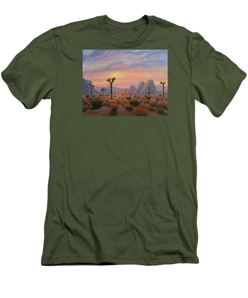 Where The Sun Sets Men's T-Shirt (Athletic Fit)
