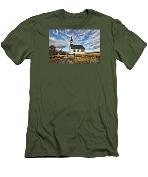 Where The Worlds Meet Men's T-Shirt (Athletic Fit)