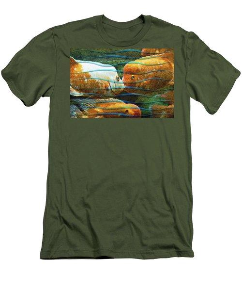 Whisper Sweet Nothings Men's T-Shirt (Athletic Fit)