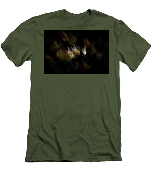 Men's T-Shirt (Slim Fit) featuring the photograph White And Yellow by Jay Stockhaus