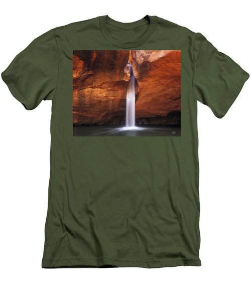 White Canyons Men's T-Shirt (Athletic Fit)