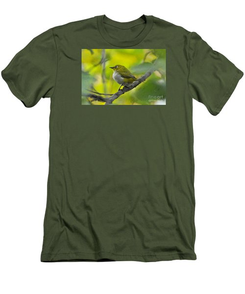 White Eye 1 Men's T-Shirt (Athletic Fit)
