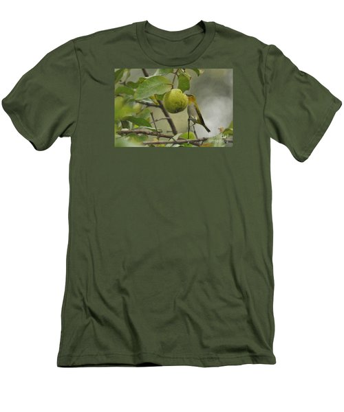 White Eye 2 Men's T-Shirt (Athletic Fit)