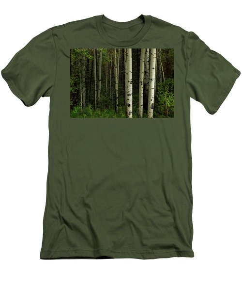 Men's T-Shirt (Athletic Fit) featuring the photograph White Forest by James BO Insogna