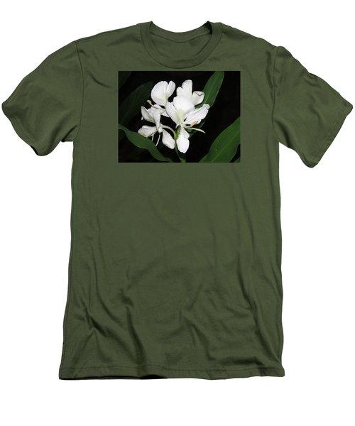 White Ginger Men's T-Shirt (Slim Fit) by Phyllis Beiser