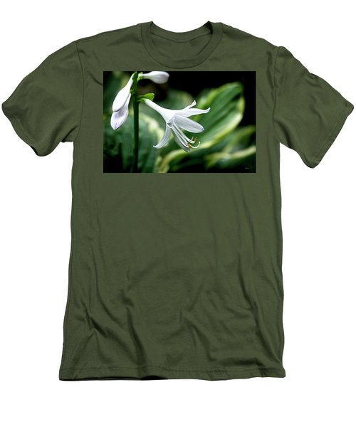 White Lily 1 Men's T-Shirt (Athletic Fit)