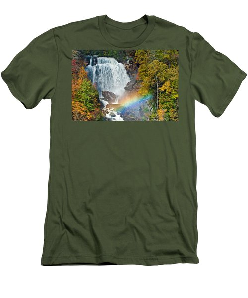 Whitewater Falls Men's T-Shirt (Athletic Fit)