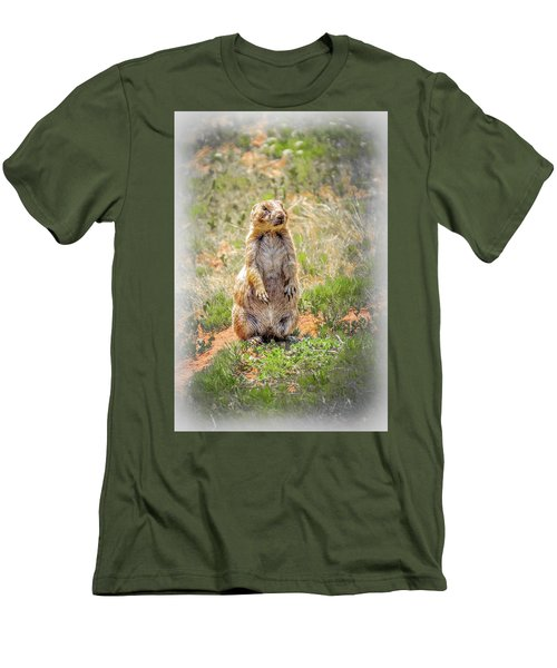 Who Dat? Men's T-Shirt (Slim Fit) by Mark Dunton