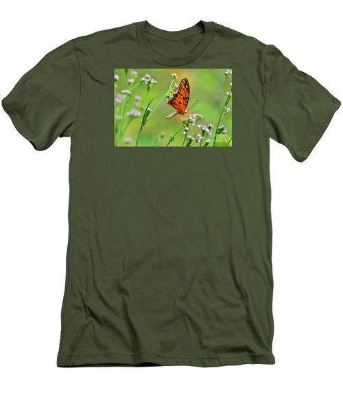 Men's T-Shirt (Slim Fit) featuring the photograph Whoops by Kathy Gibbons
