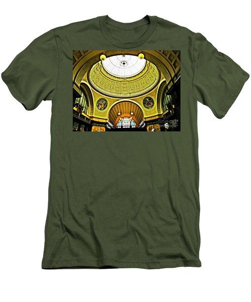 Wiesbaden Casino Men's T-Shirt (Slim Fit) by Sarah Loft
