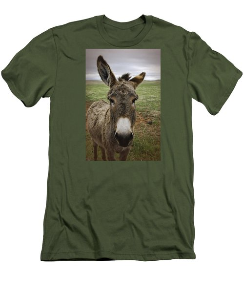Wild Burro Men's T-Shirt (Athletic Fit)