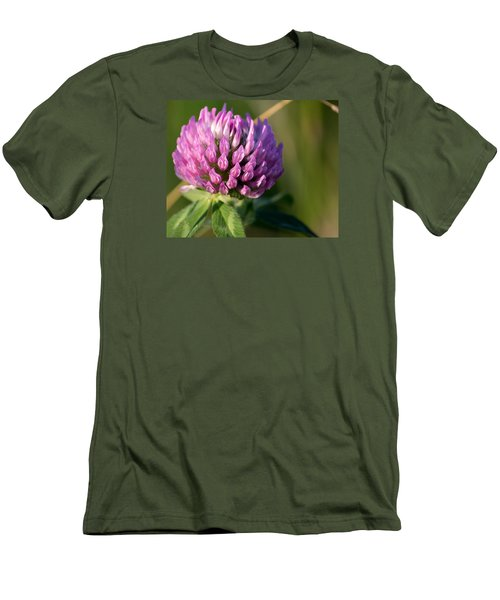 Wild Flower Bloom  Men's T-Shirt (Athletic Fit)