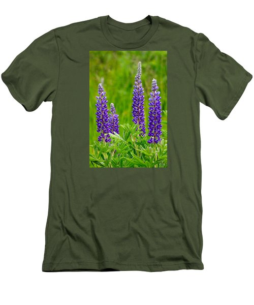 Wild Lupine Men's T-Shirt (Athletic Fit)