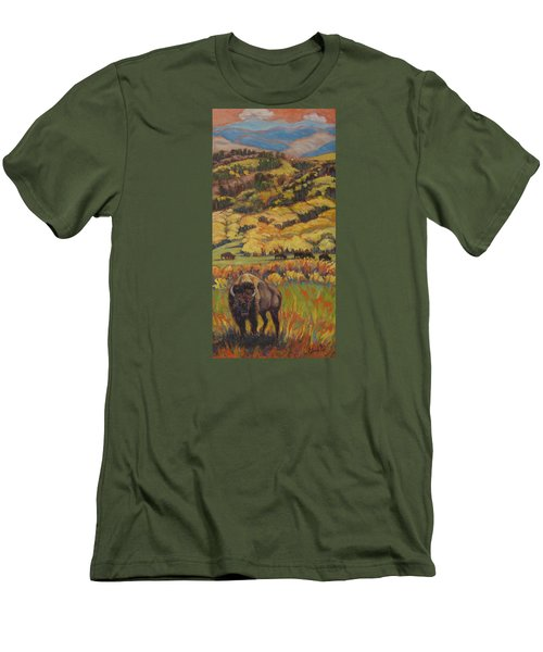 Wild West Splendor Men's T-Shirt (Athletic Fit)