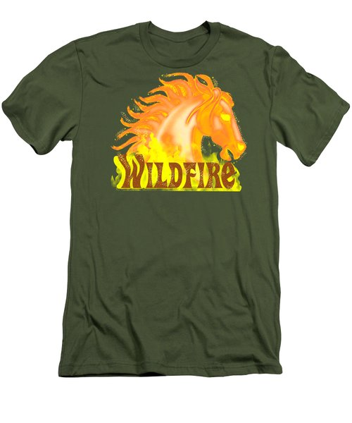 Wildfire Men's T-Shirt (Athletic Fit)