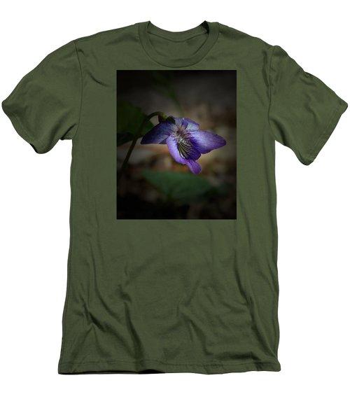 Wildflower Men's T-Shirt (Slim Fit) by Karen Harrison