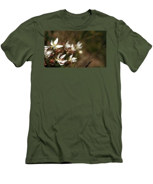 Wildflowers Men's T-Shirt (Slim Fit) by Marna Edwards Flavell