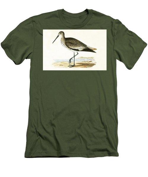 Willet Men's T-Shirt (Athletic Fit)