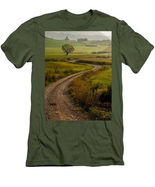 Willow Men's T-Shirt (Slim Fit) by Davorin Mance
